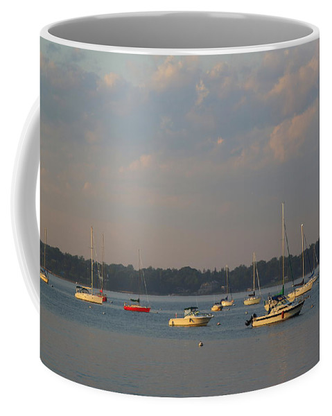 Sea Coffee Mug featuring the photograph Summer Time At Little Neck Bay by Dora Sofia Caputo Photographic Design and Fine Art