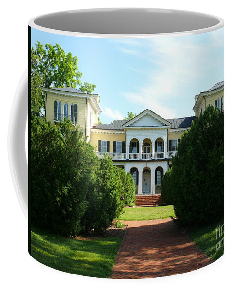 Sweet Briar Coffee Mug featuring the photograph Summer Time At Sweet Briar House by Katherine W Morse