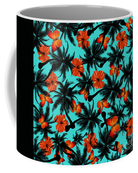 Cherry Coffee Mug featuring the painting Summer Time by Mark Ashkenazi