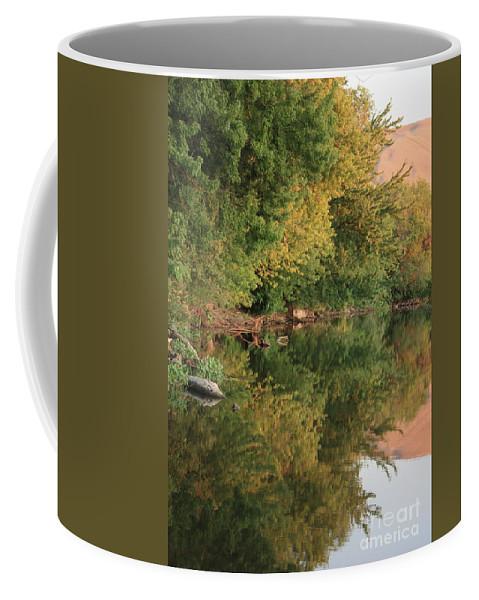 Summer Coffee Mug featuring the photograph Summer Trees Sunset by Carol Groenen