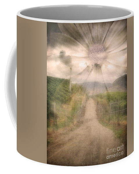Flower Coffee Mug featuring the photograph Summer's Last Light by Tara Turner