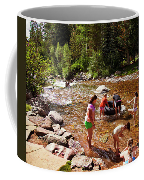 Summer Coffee Mug featuring the photograph Summertime Fun by Madeline Ellis