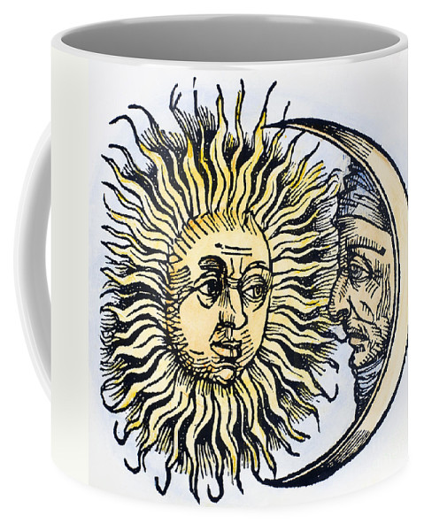1493 Coffee Mug featuring the photograph Sun And Moon, 1493 by Granger