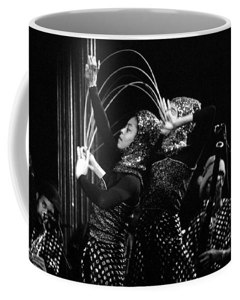 Sun Ra Coffee Mug featuring the photograph Sun Ra Arkestra And Dancers by Lee Santa