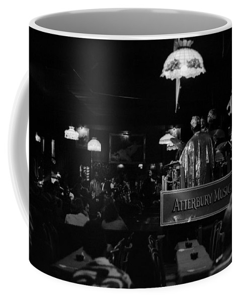Jazz Coffee Mug featuring the photograph Sun Ra Arkestra At The Red Garter 1970 Nyc 16 by Lee Santa