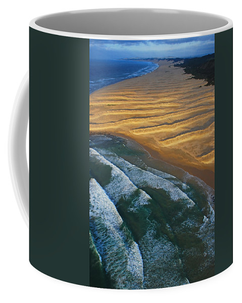 Coast Coffee Mug featuring the photograph Sun Rise Coast by Skip Hunt