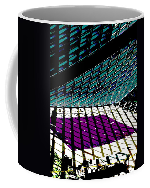 Seattle Coffee Mug featuring the photograph Sunbeaming by Tim Allen