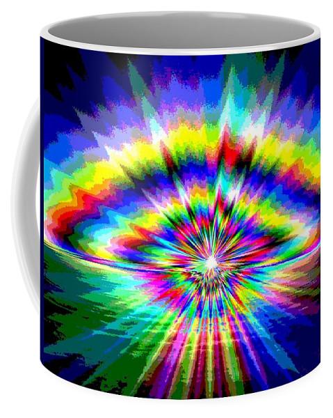 Sun Coffee Mug featuring the photograph Sunburst by Tim Allen