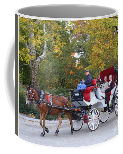 Ny Coffee Mug featuring the photograph Sunday Afternoon In Central Park by Dora Sofia Caputo Photographic Design and Fine Art