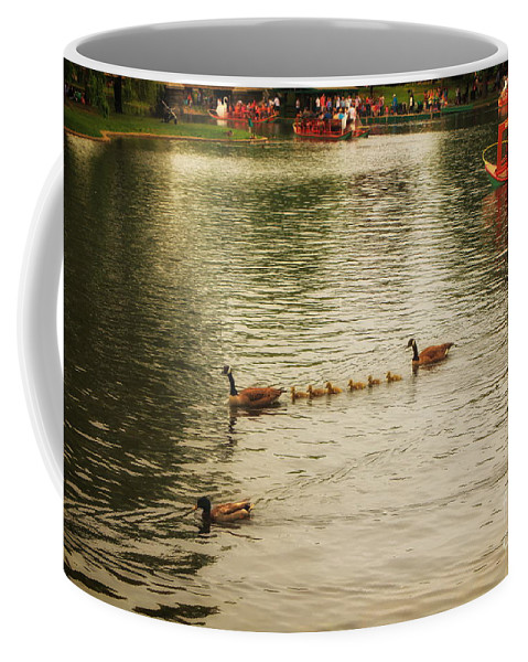 Boston Commons Coffee Mug featuring the photograph Sunday Afternoon In The Commons by Elizabeth Dow