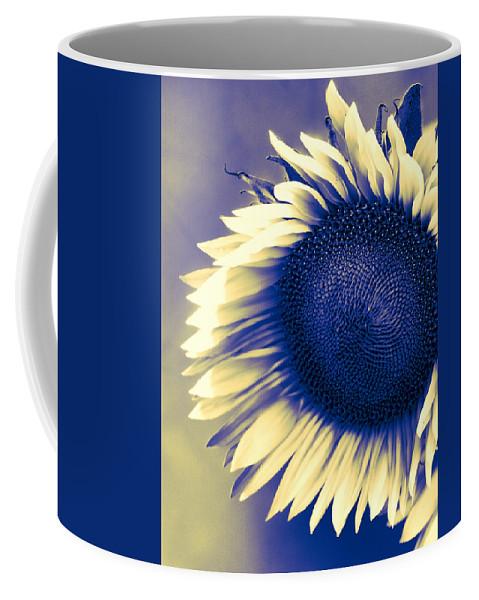 Sunflower Coffee Mug featuring the photograph Sunflower Sunrise by William Dey