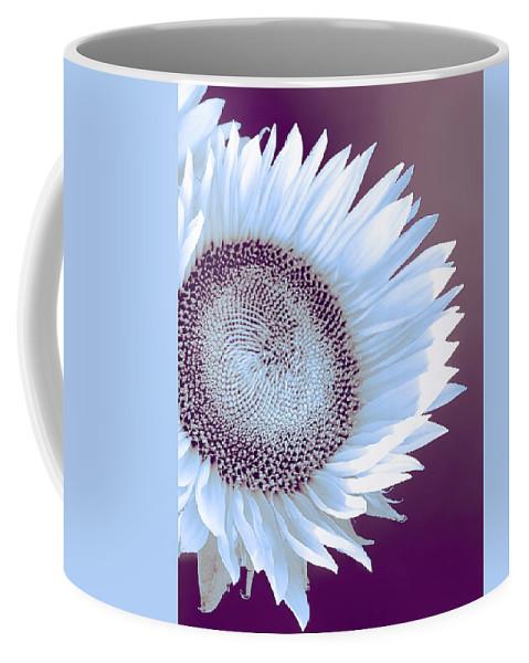 Sunflower Coffee Mug featuring the photograph Sunflower Starlight by William Dey