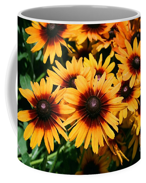 Sunflowers Coffee Mug featuring the photograph Sunflowers by Dean Triolo