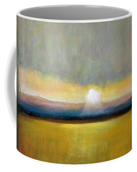 Painting Coffee Mug featuring the painting Sunlight by Vesna Antic