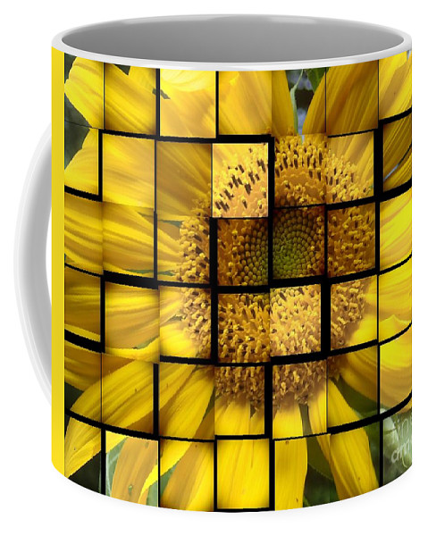 Flower Coffee Mug featuring the photograph Sunny Composition by Christina Verdgeline