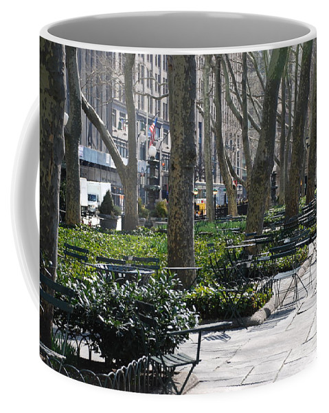 Parks Coffee Mug featuring the photograph Sunny Morning In The Park by Rob Hans