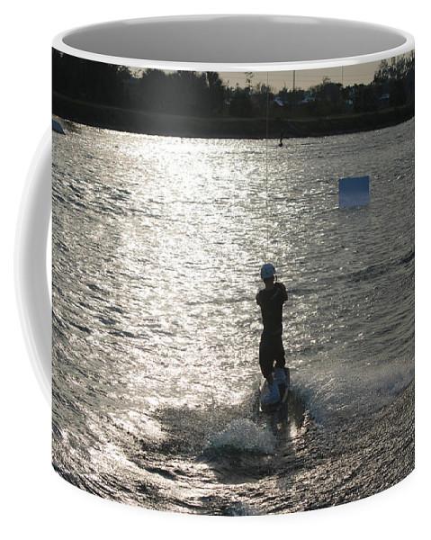Sun Coffee Mug featuring the photograph Sunny Waves by Rob Hans