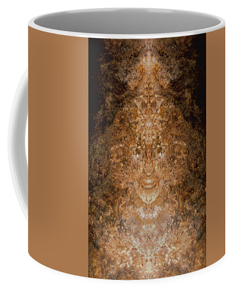 Rocks Coffee Mug featuring the photograph Sunqueen of Woodstock by Nancy Griswold