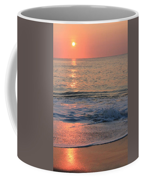 Sun Coffee Mug featuring the photograph Sunrise 1 by Deborah Starobin-Armstrong