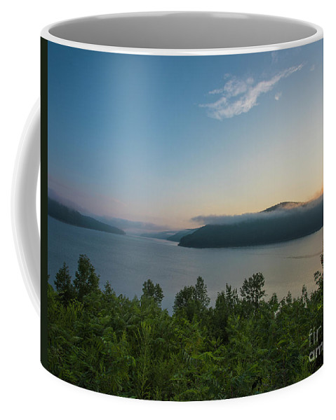 Natanson Coffee Mug featuring the photograph Sunrise Allegheny National Forest by Steven Natanson