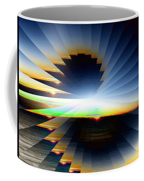 Sunrise Coffee Mug featuring the photograph Sunrise At 30k 6 by Tim Allen