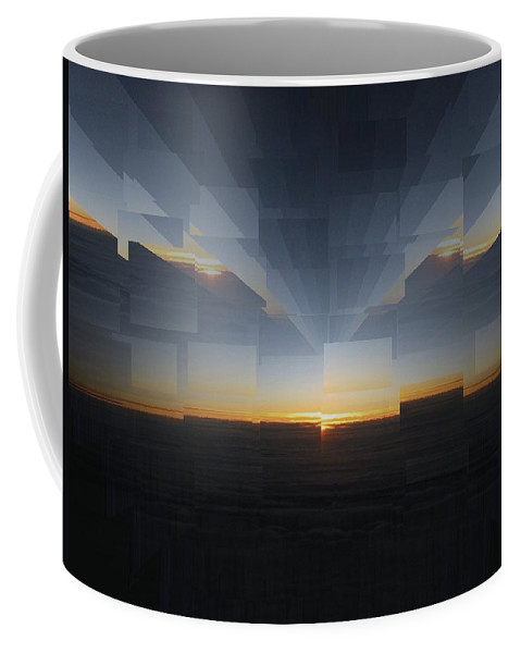 Sunrise Coffee Mug featuring the photograph Sunrise At 30k 8 by Tim Allen