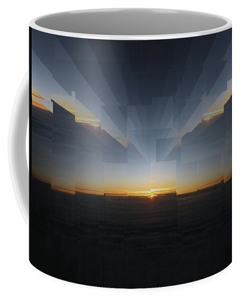 Sunrise Coffee Mug featuring the photograph Sunrise At 30k 9 by Tim Allen