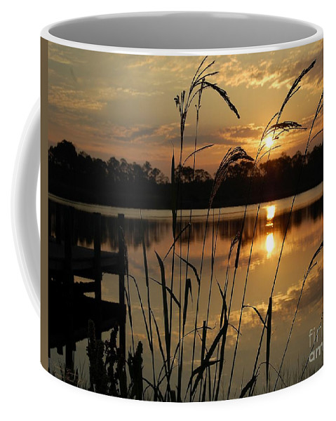 Sunrise Coffee Mug featuring the photograph Sunrise At Grayton Beach by Robert Meanor