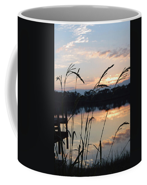 Sunrise Coffee Mug featuring the photograph Sunrise In Grayton 3 by Robert Meanor