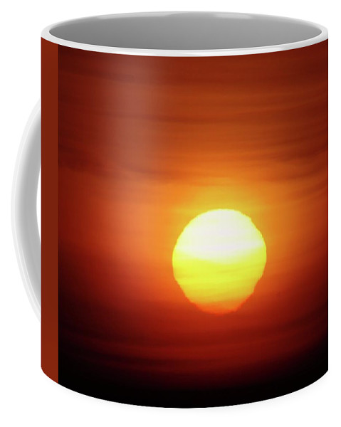 Sunrsie Coffee Mug featuring the photograph Sunrise In Othello by Jeff Swan