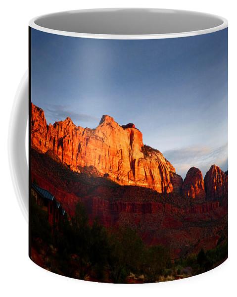 Sunrise Coffee Mug featuring the photograph Sunrise In Utah by Marcia Socolik