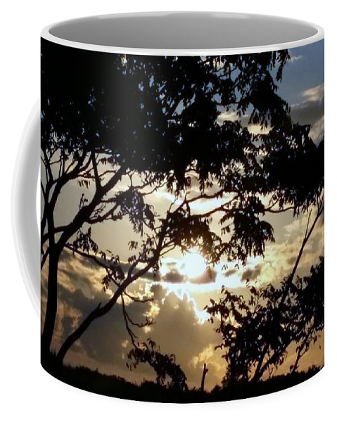 Sunrise Coffee Mug featuring the photograph Sunrise Over Fort Salonga7 by Rob Hans