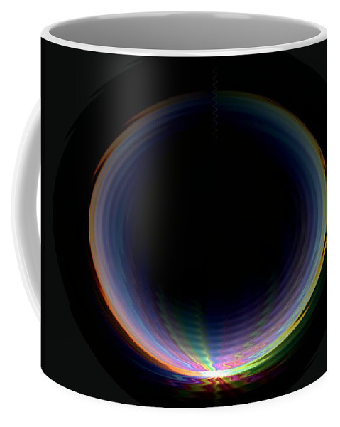 Sunrise Coffee Mug featuring the photograph Sunrise Ripples by Tim Allen