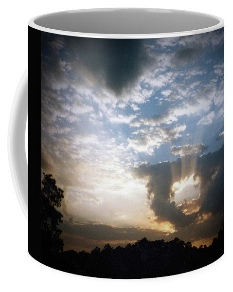 Fort Myers Florida Sunset Coffee Mug featuring the photograph Sunset 1 by D G Reiter