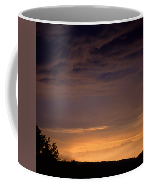 Landscape Coffee Mug featuring the photograph Sunset 3 by Lee Santa