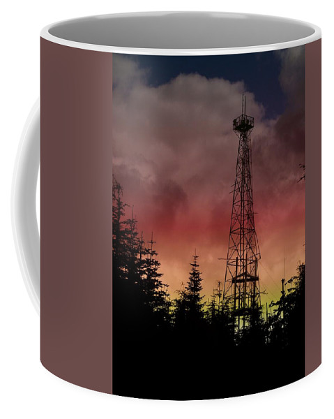 Sunset Coffee Mug featuring the photograph Sunset 5 by Tim Allen