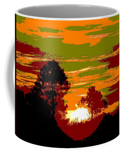 Sunset Coffee Mug featuring the photograph Sunset 6 by Tim Allen