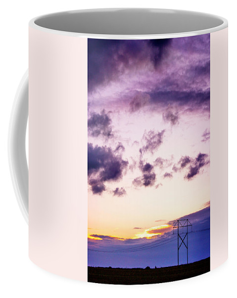 Landscape Coffee Mug featuring the photograph Sunset #7 by Beth Hedley
