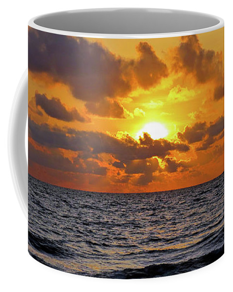 Sunset Coffee Mug featuring the photograph Sunset by A H Kuusela