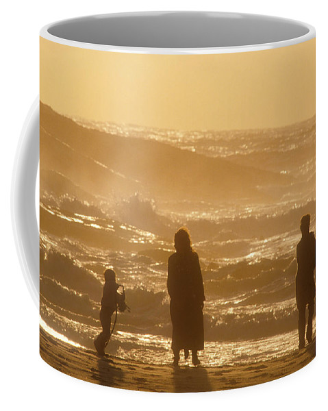 Africa Coffee Mug featuring the photograph Sunset Along The Ocean East Of The City by Michael S. Lewis