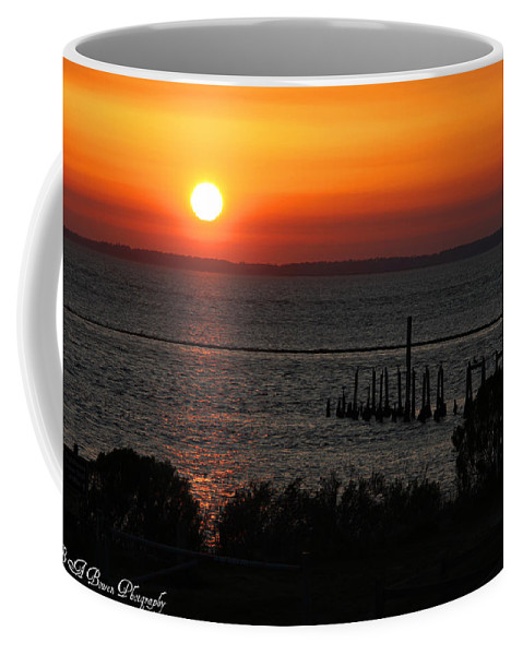 Sunset Coffee Mug featuring the photograph Sunset At St.marks Nwf by Barbara Bowen