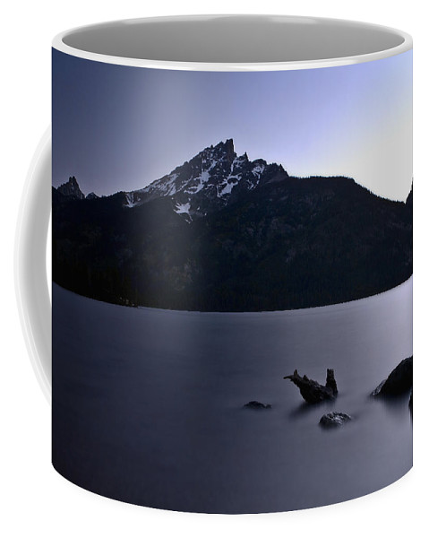 Nature Coffee Mug featuring the photograph Sunset At The Lake by John K Sampson