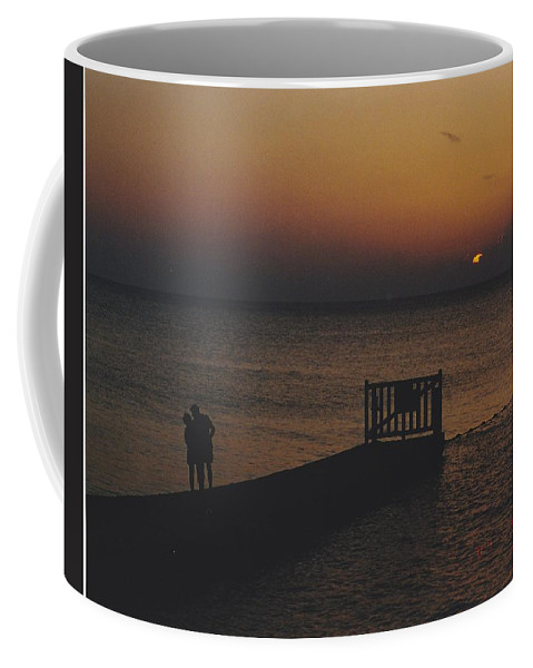Sunsets Coffee Mug featuring the photograph Sunset Couple by Michelle Powell