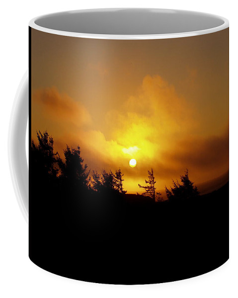 Sunset Coffee Mug featuring the photograph Sunset by Deborah Crew-Johnson