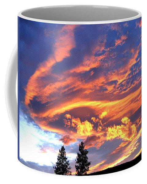 Sunset Coffee Mug featuring the photograph Sunset Extravaganza by Will Borden