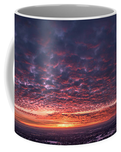 Sunset Coffee Mug featuring the photograph Sunset For Days by Roderick Dye