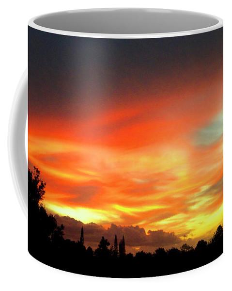 Frank Wilson Coffee Mug featuring the photograph Sunset by Frank Wilson