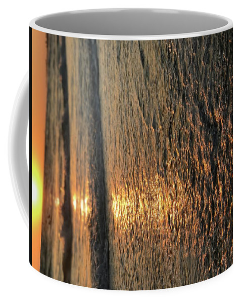 Sunset With Reflection Coffee Mug featuring the photograph Sunset Glow by Mackenzie Burley