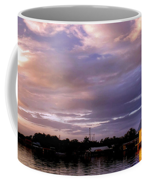 Sunset Coffee Mug featuring the photograph Sunset Hut by Dolly Sanchez