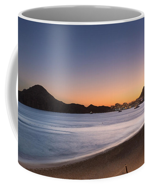 Downtown Coffee Mug featuring the photograph Sunset In Cabo by David Cornelius